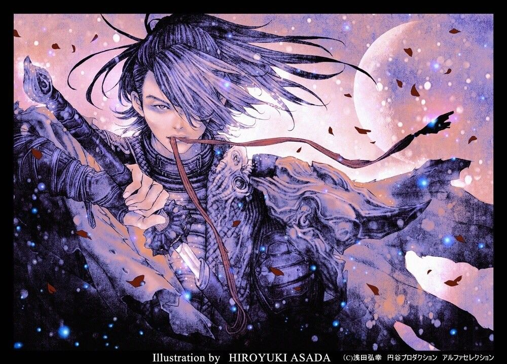Hyakkimaru. Anime fanart, Old anime, Illustration
