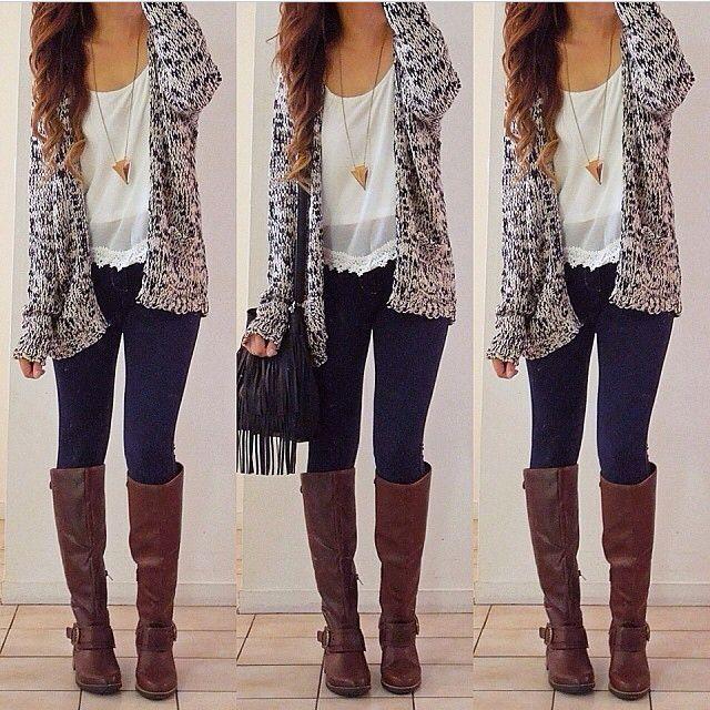 Fashion Long Sleeve Knitting Cardigan #womenfashion #popular #elegant
