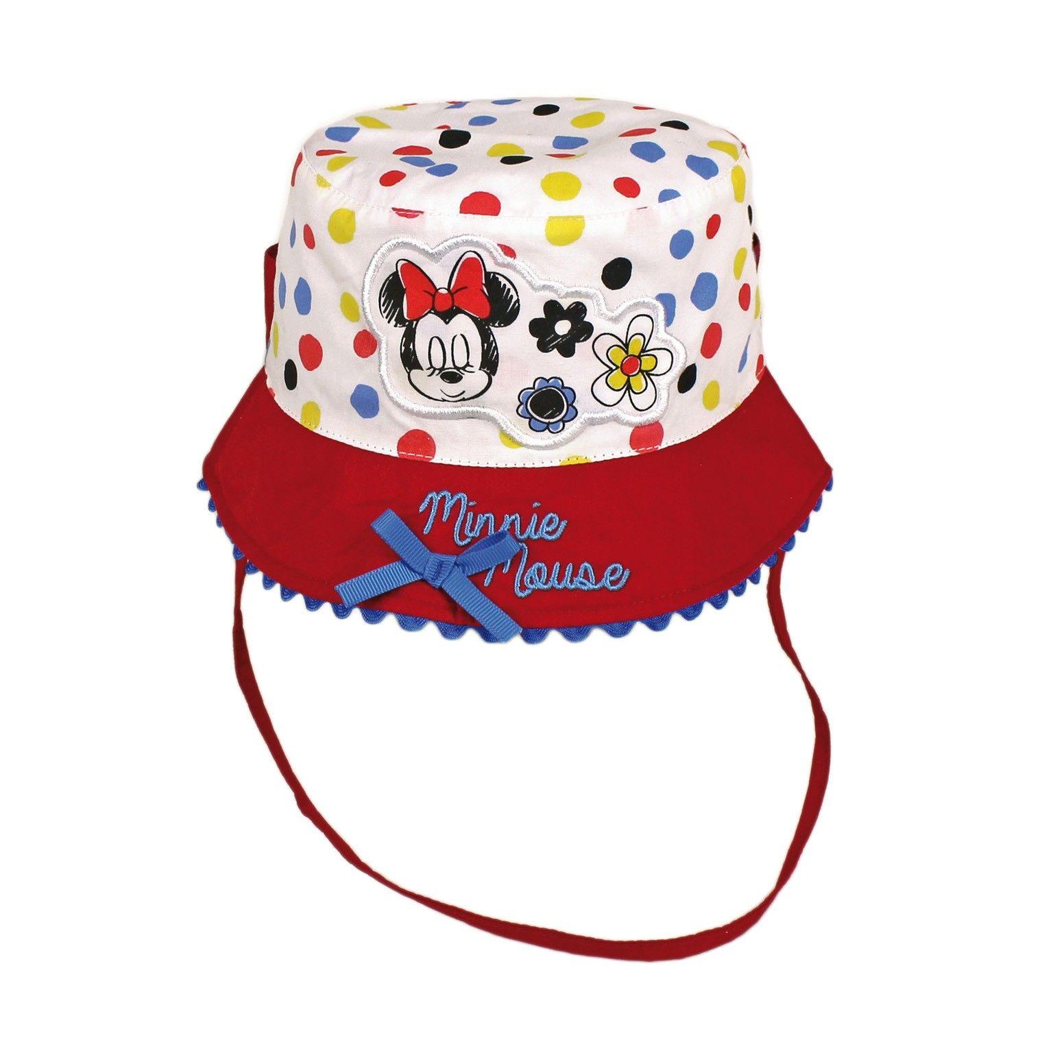 Sombrero de Minnie para bebés. Perfecto para cubrir la cabeza de los más  pequeños y 6388a2dbd4d