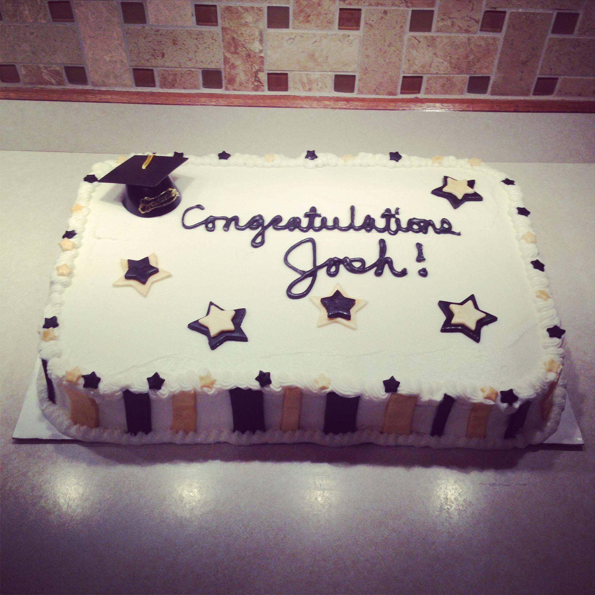 Graduation Sheet Cake Custom Cake Meg S Little Bakery