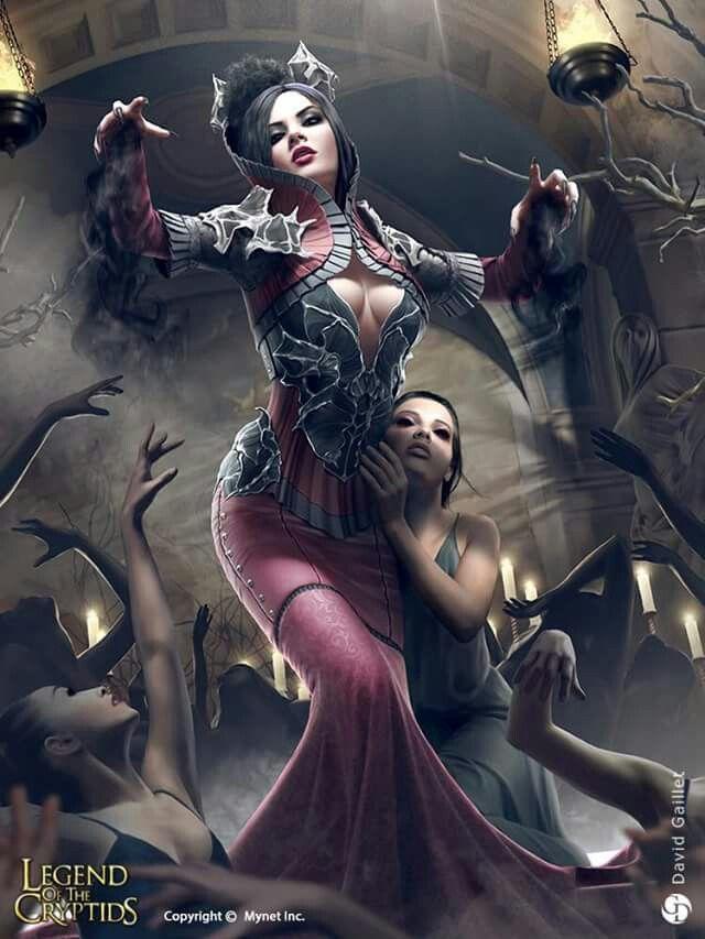 The women full power ♡   Fantasy art women, Dark fantasy art, Fantasy women