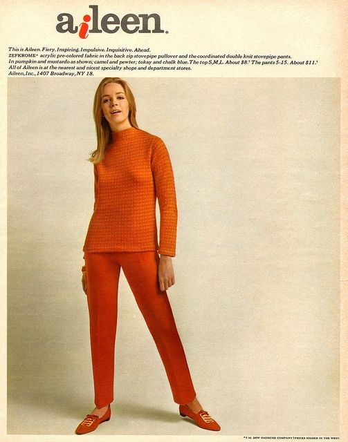 1960s Aileen Separates Fashion 1960s Fashion Mid Century Fashion