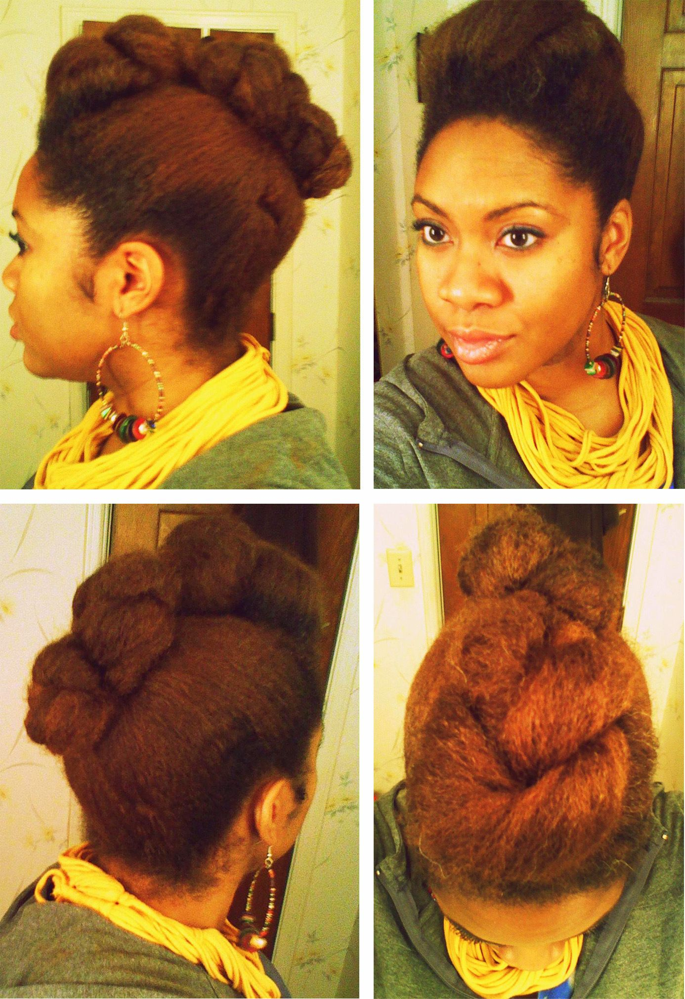 Braided mohawk hair styles ideas all textures pinterest
