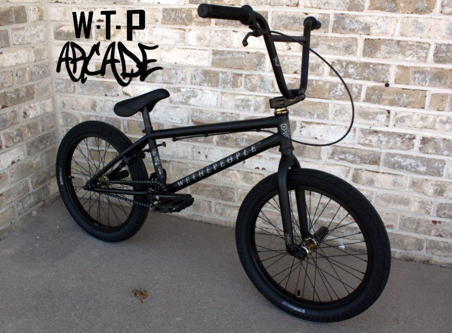 Wethepeople Arcade 2017 Matt Black Bmx Bmx Bikes Arcade