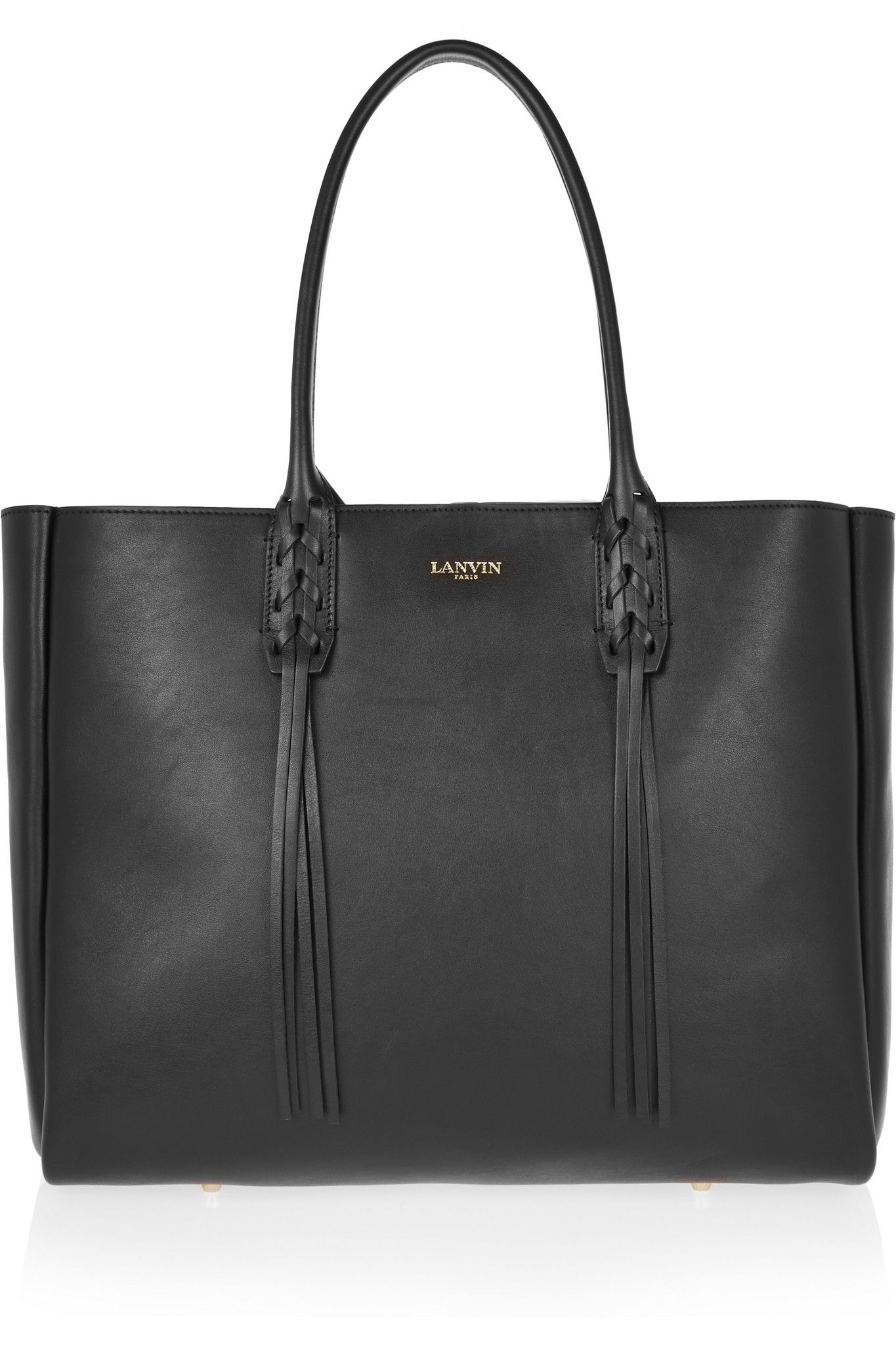 LANVIN The Shopper small leather tote £785.00 https://www.net-a-porter.com/products/589620