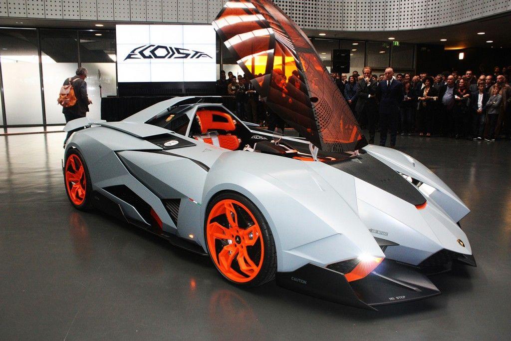 Lovely Lamborghini Egoista   Engine: V10 5.2 Litre (318 Cid), Top Speed: 325 Km/h  (202 Mph)