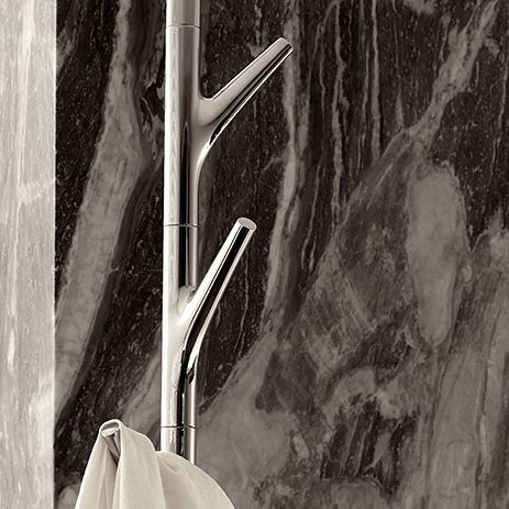 The Axor Massaud towel holder