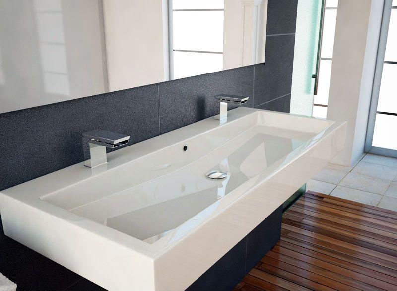 doppelwaschbecken bad pinterest doppelwaschbecken badezimmer und badezimmer aufbewahrung. Black Bedroom Furniture Sets. Home Design Ideas