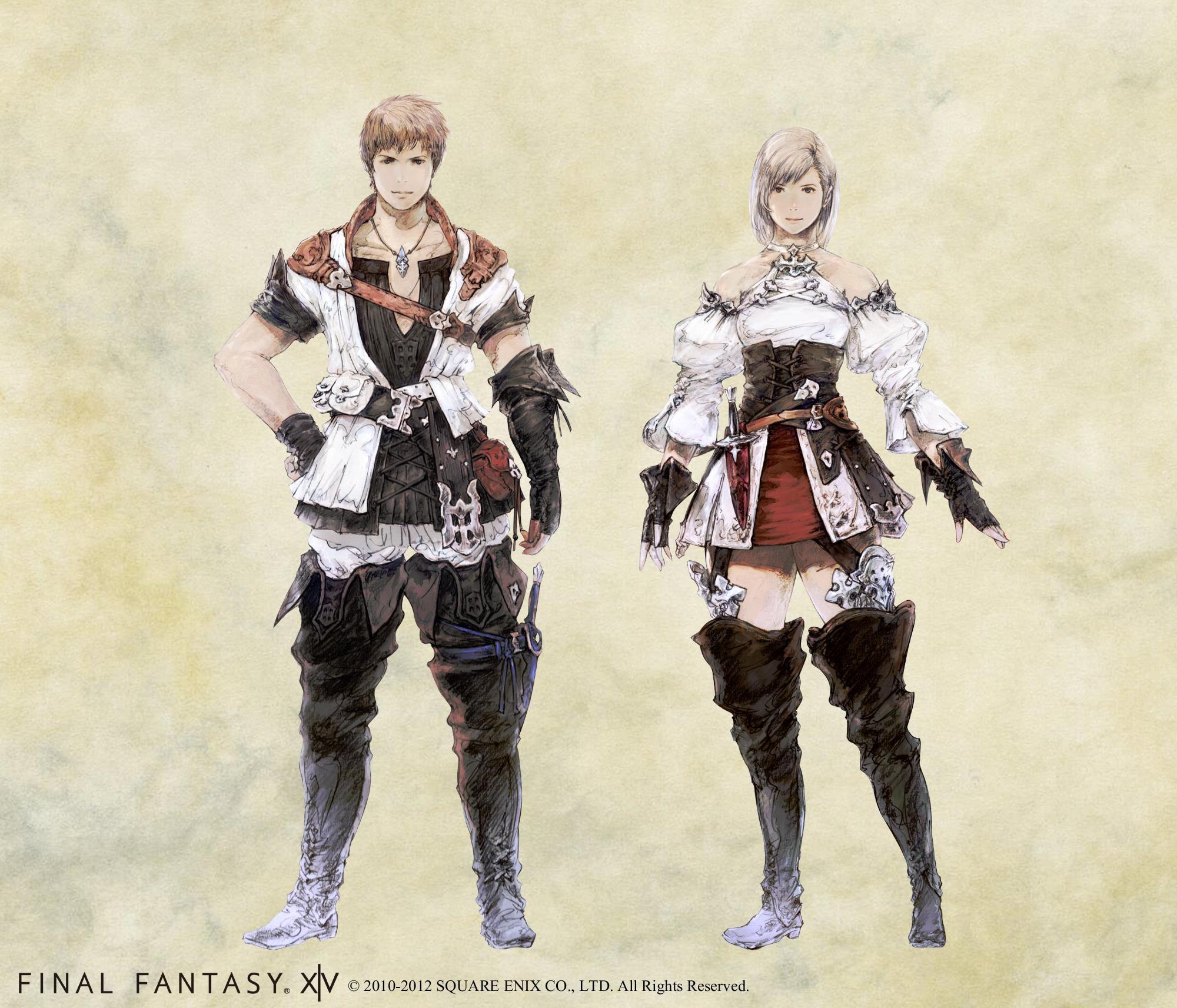 FFXIV Hyur race-specific equipment | final fantasy 14