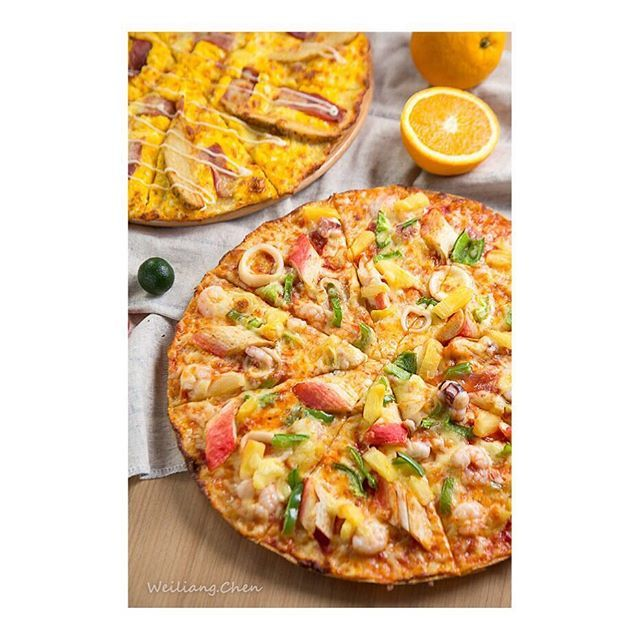 海鲜薄底披萨 Pizza Pizzahut Photooftheday Photography Seafood