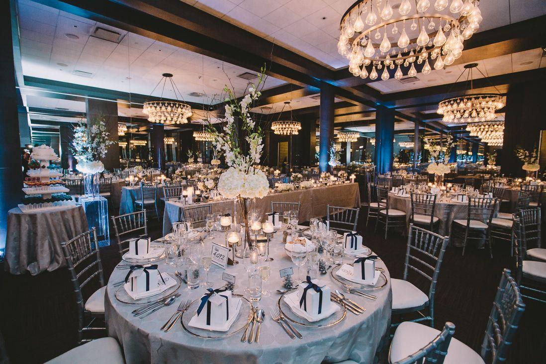 Wellington Room Thompson Hotel Wedding Reception Toronto