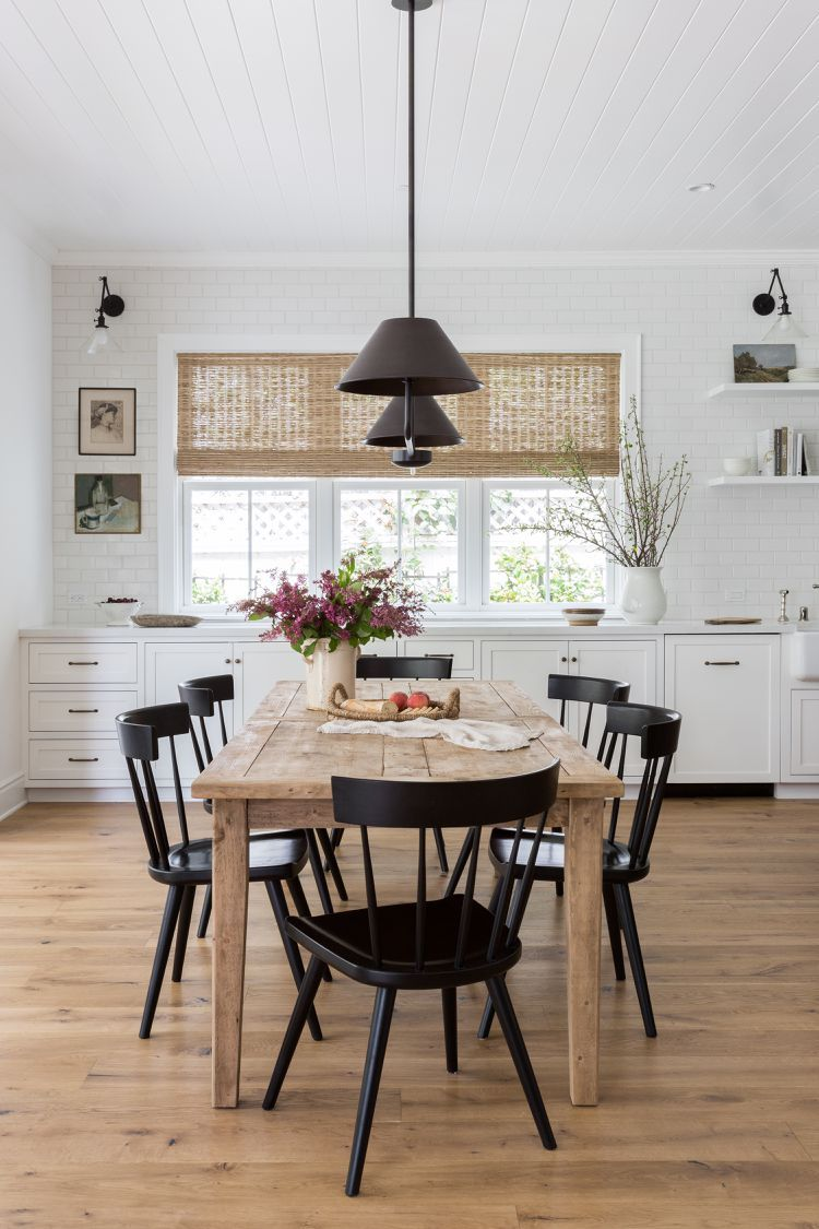 20 modern farmhouse dining rooms that will transport you