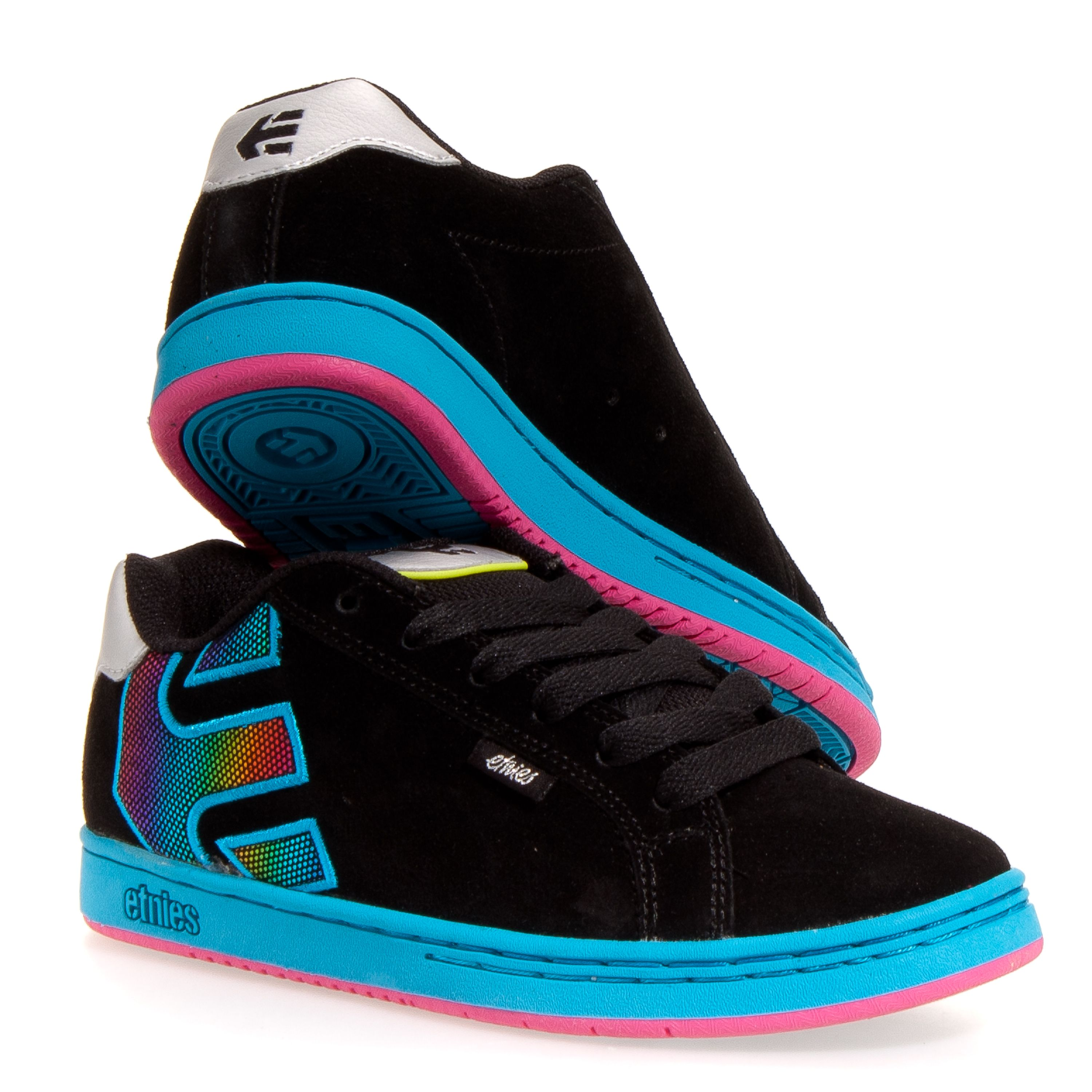 etnies fader w s s skate shoes black 6 5 try