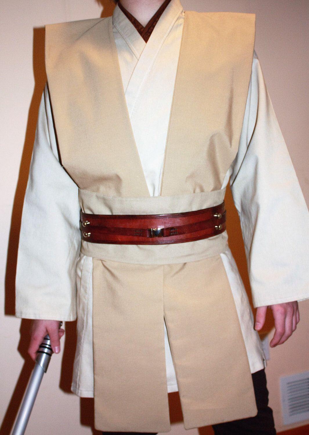 Custom made 4 Piece Star Wars Jedi Tunic, Tabards and Obi set by ...