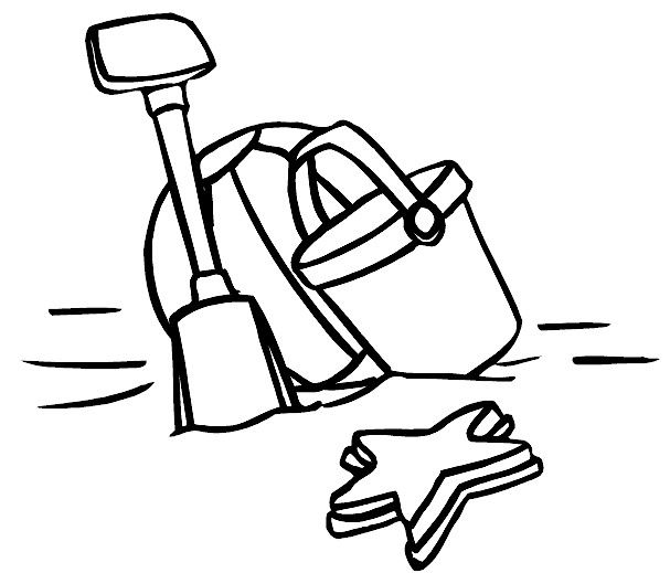 shovel coloring pages - photo#20