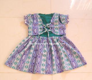 2c6ecfa97df7 Easy Crafts - Explore your creativity  Girl baby dress with coat ...