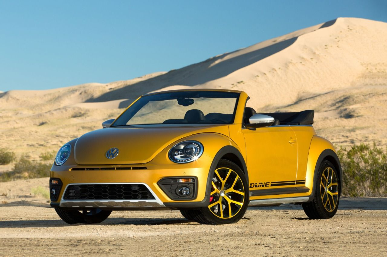 2017 Volkswagen Beetle Convertible DUNE Confused about what to