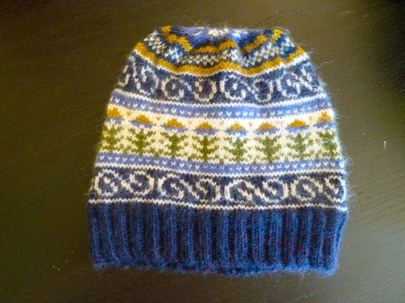 Fair Isle Hat Patterns Free Patterns Projects Pinterest