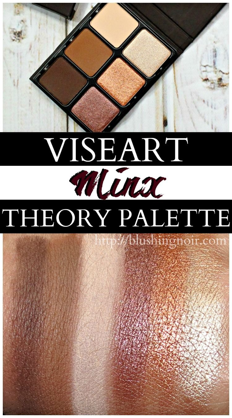 Theory Eyeshadow Palette - Theory II Minx by Viseart #18