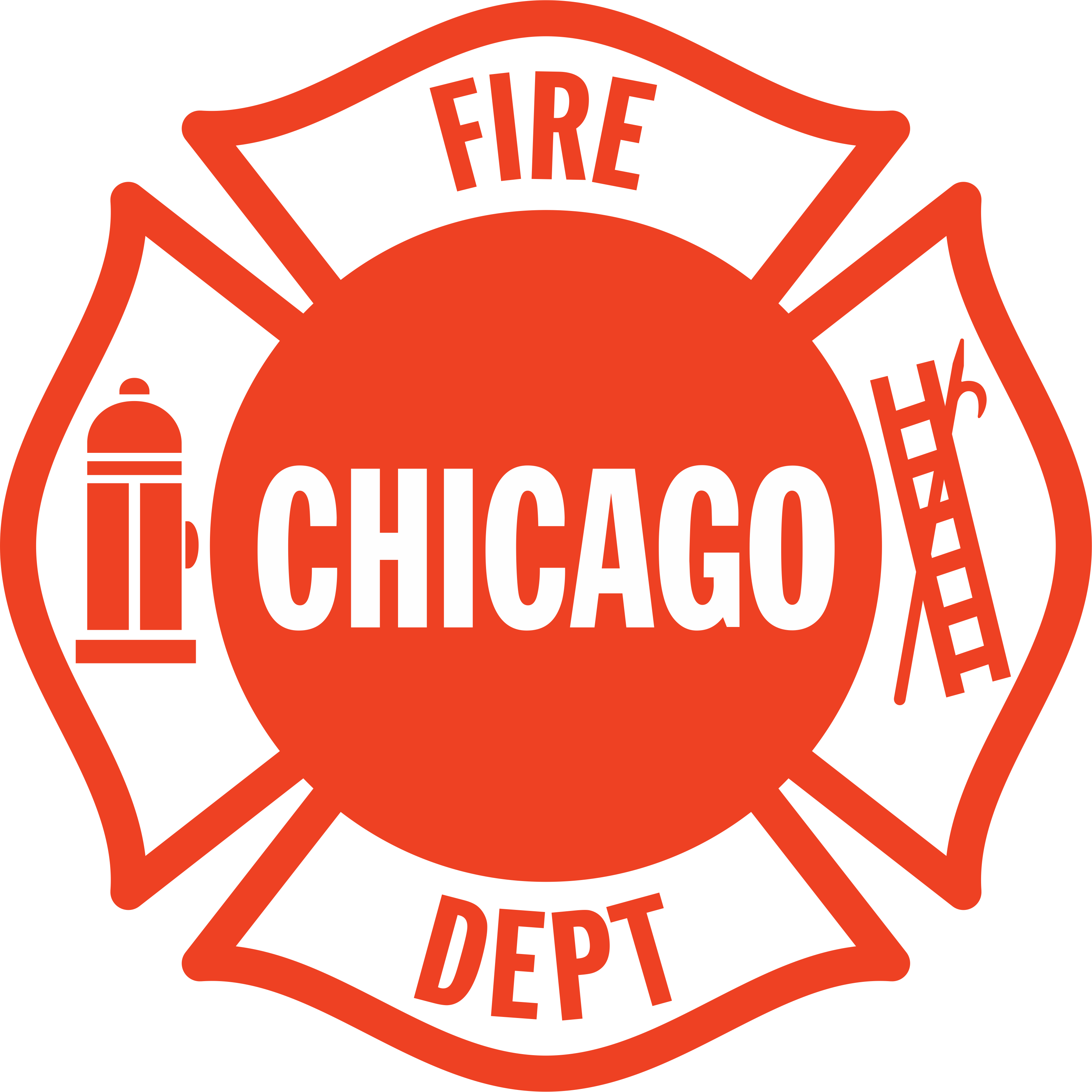 Chicago Fire Dept. sticker in 2020 Chicago fire, Fire