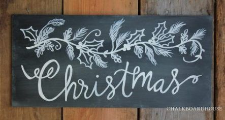 New Quotes Christmas Holiday Chalkboard Art Ideas #christmaschalkboardartideas