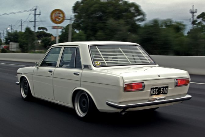 Datsun 510 on highway | FREE JDM Tuner classifieds at JDMads.com | LIKE US ON FACEBOOK - www.facebook.com/jdmads