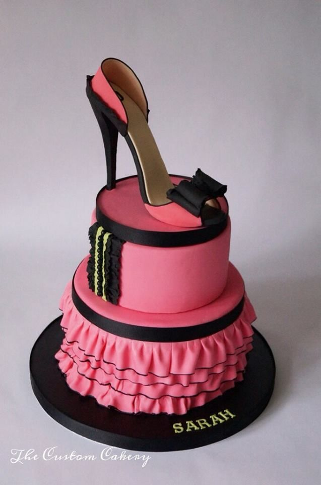 Spotlight On The Custom Cakery Shoe Cakes Girly Cakes Cake