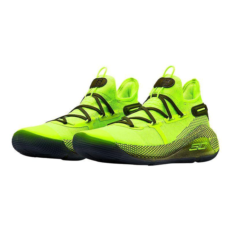 Men's Under Armour Curry 6 Shoes Size 8-14