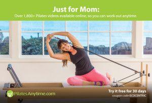 August 2015 Mom Box #pilatesvideo