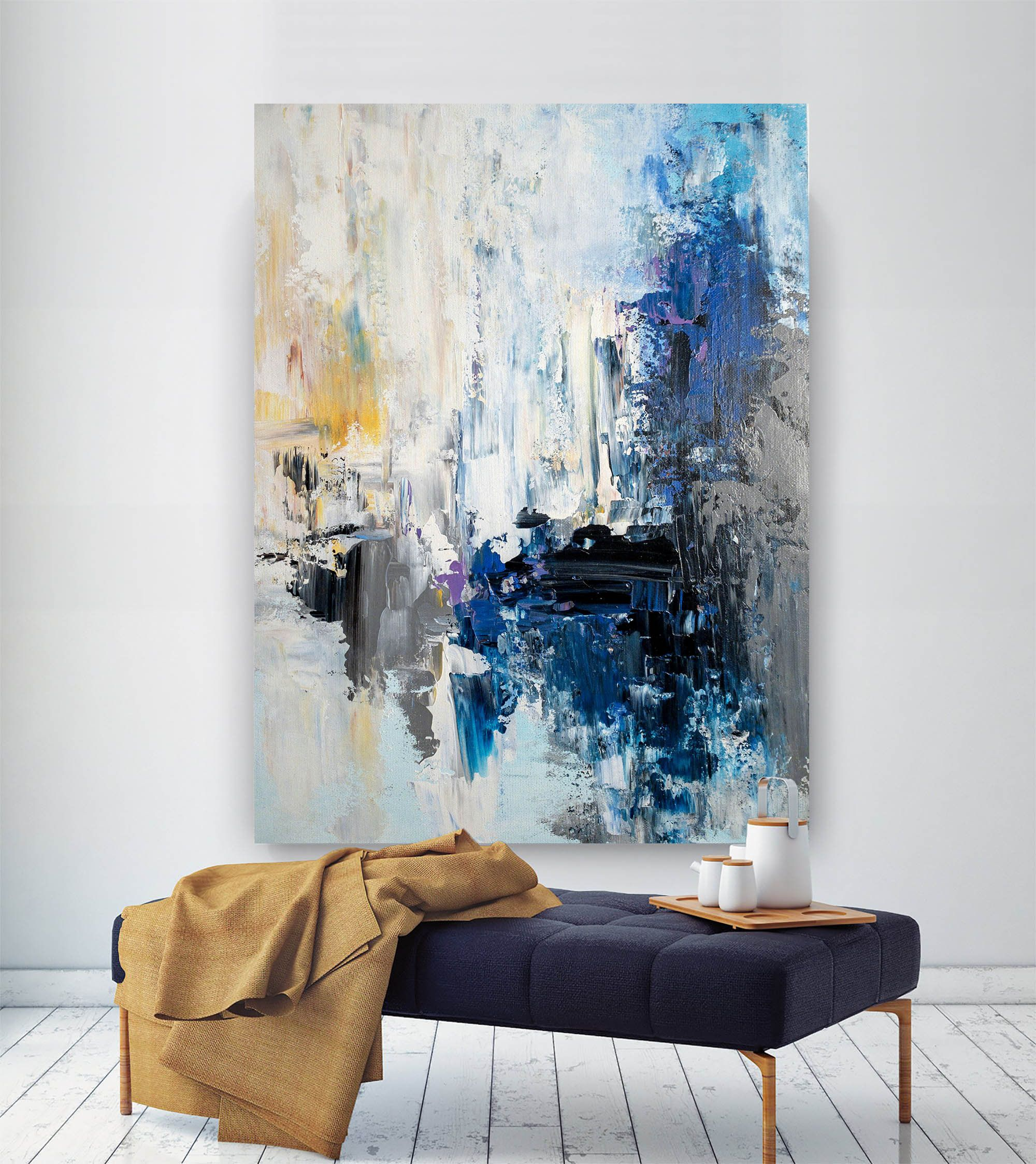 Large Abstract Wall Artoriginal Abstract Wall Artoriginal Etsy Large Abstract Wall Art Modern Abstract Painting Abstract Wall Art