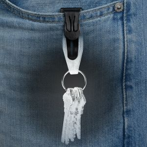 d9efe5ddc2 Pocket Clip Key Ring. Never lose your keys again. This lightweight, low  profile