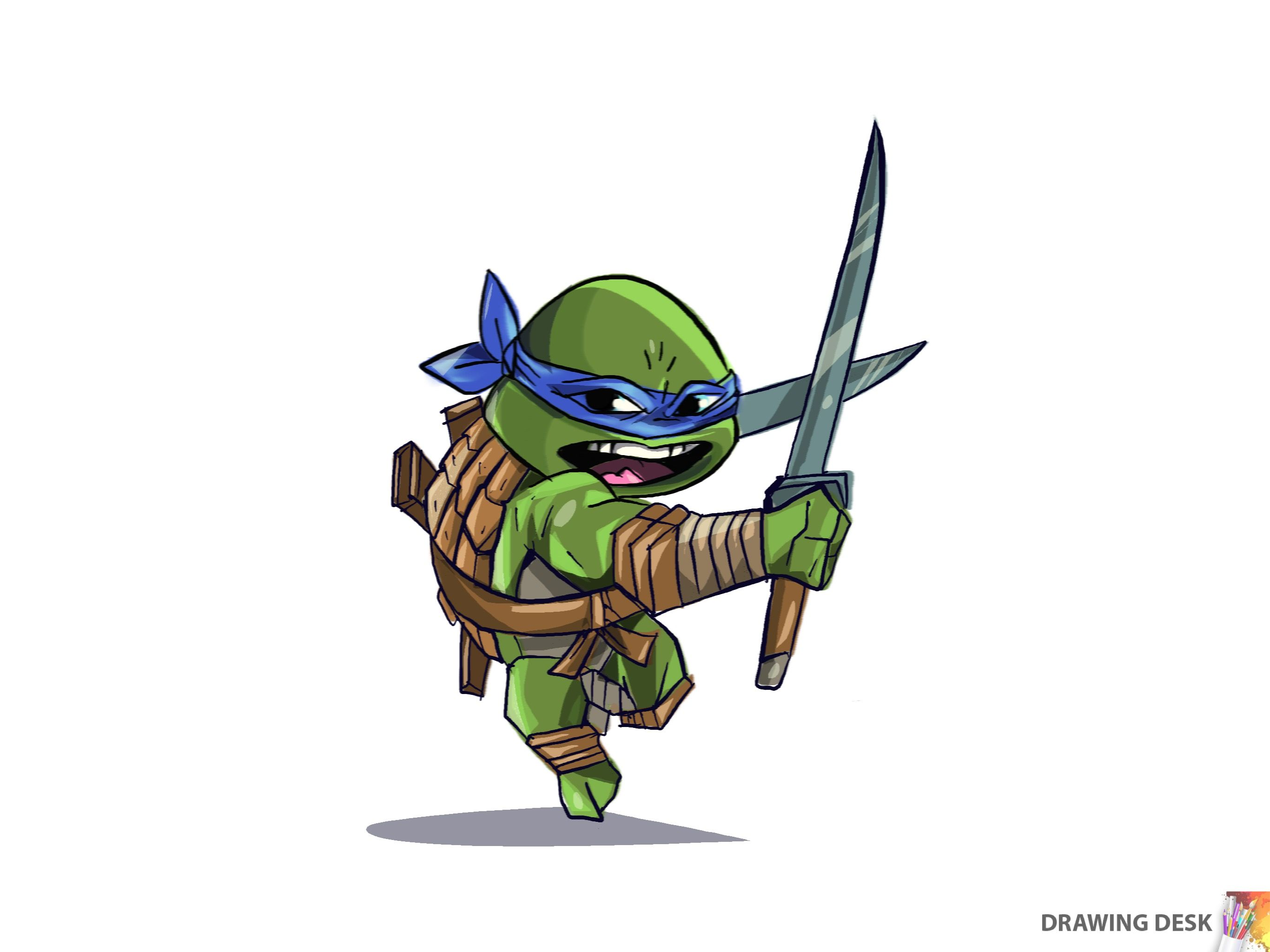 A Drawing Done By Drawing Desk App Ninja Turtle Fan Art Drawing Art Drawingdesk Drawingapp Ninjaturtles Leonard Character Drawing Drawing Desk Drawings