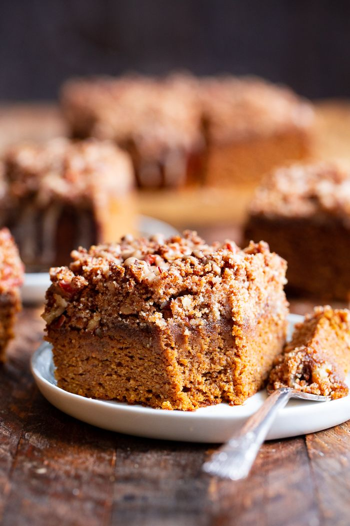 Pumpkin Coffee Cake Paleo Gluten Free Recipe Pumpkin Coffee