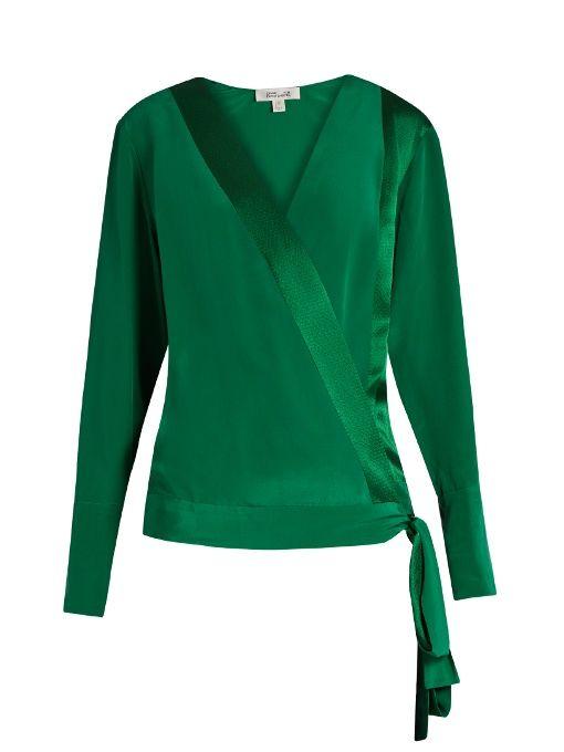 a628e468c2d8d5 diane von furstenberg cadence silk shirt dress