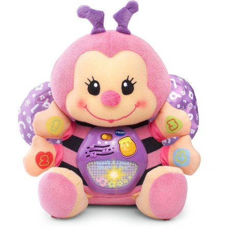Vtech Touch & Learn Musical Bee, Pink - Walmart.com | Baby Girl ...