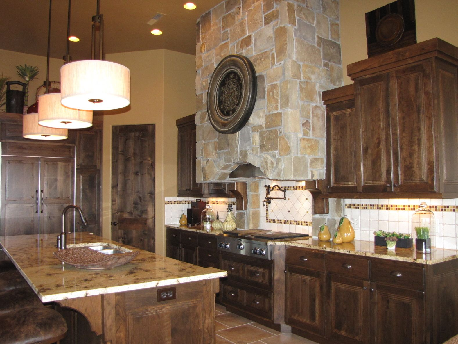 Cabinets rustic southwest kitchen rustic southwest - Kitchen cabinets southwest ...