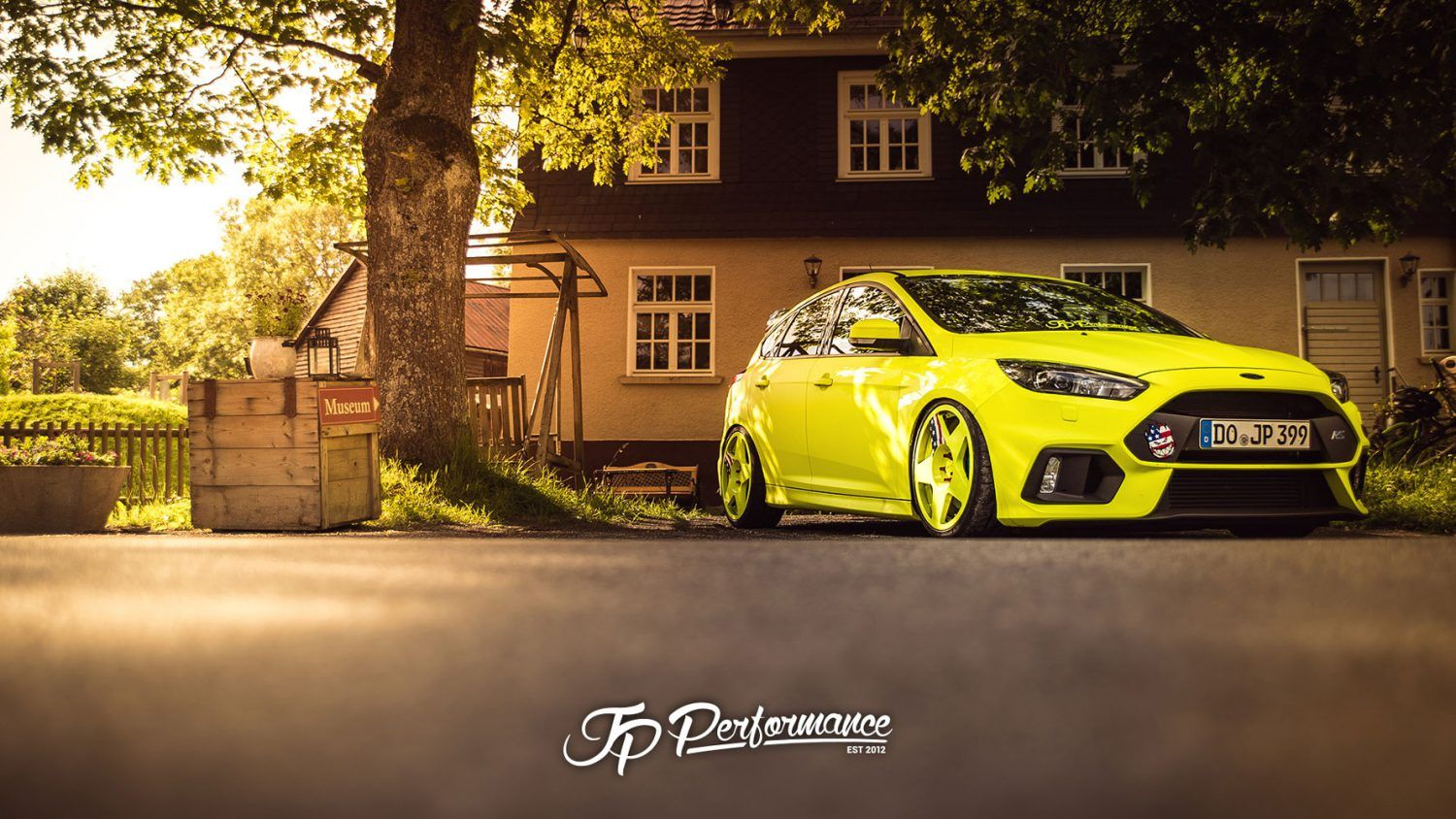 Jp Performance Ford Focus Rs Wallpaper