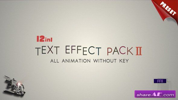 Text fx pack ii after effects project videohive after effects text fx pack ii after effects project videohive maxwellsz