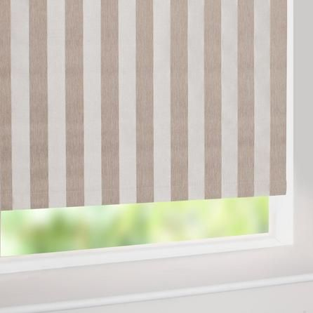 Featuring A Minimalist Striped Design In Choice Of Colours These Roller Blinds Are Lined With Blackout Properties To Reduce Unwanted External Light And