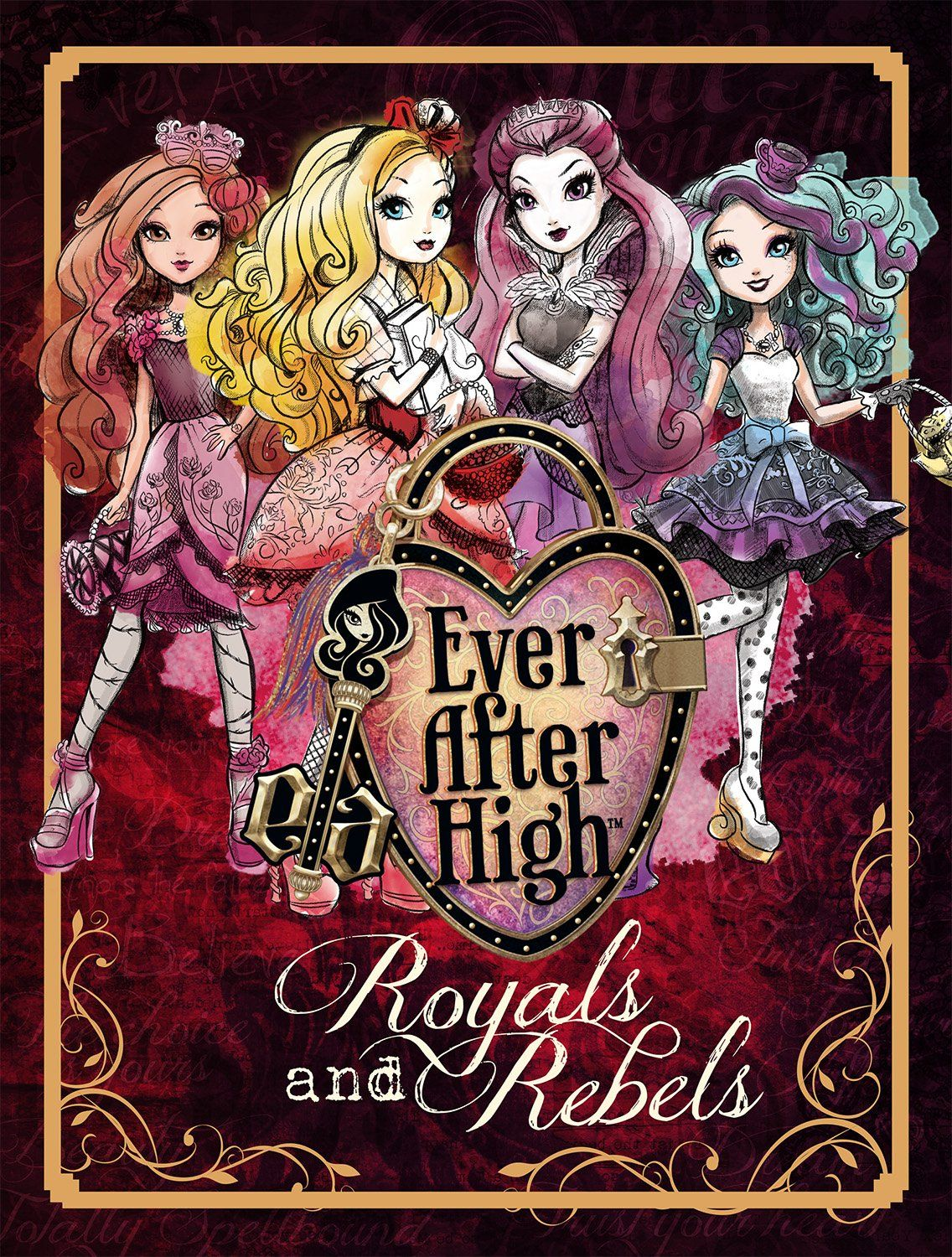 Libros Monster High Ever After High Royals And Rebels Parragon Books