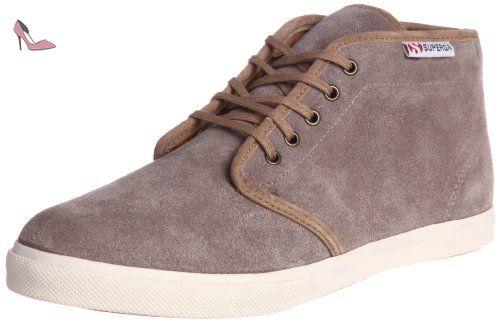 Superga 2754 Cotu, Sneakers Hautes mixte adulte-Blanc 44 EU