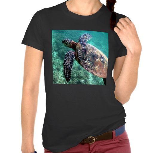 Hawaiian Sea turtle Tee Shirt