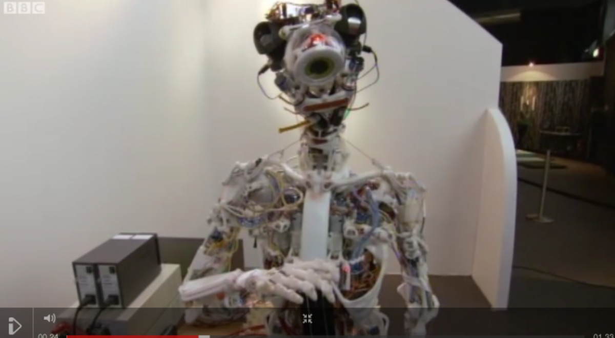 video: a robot with a human skeleton | popular science | robotics, Skeleton