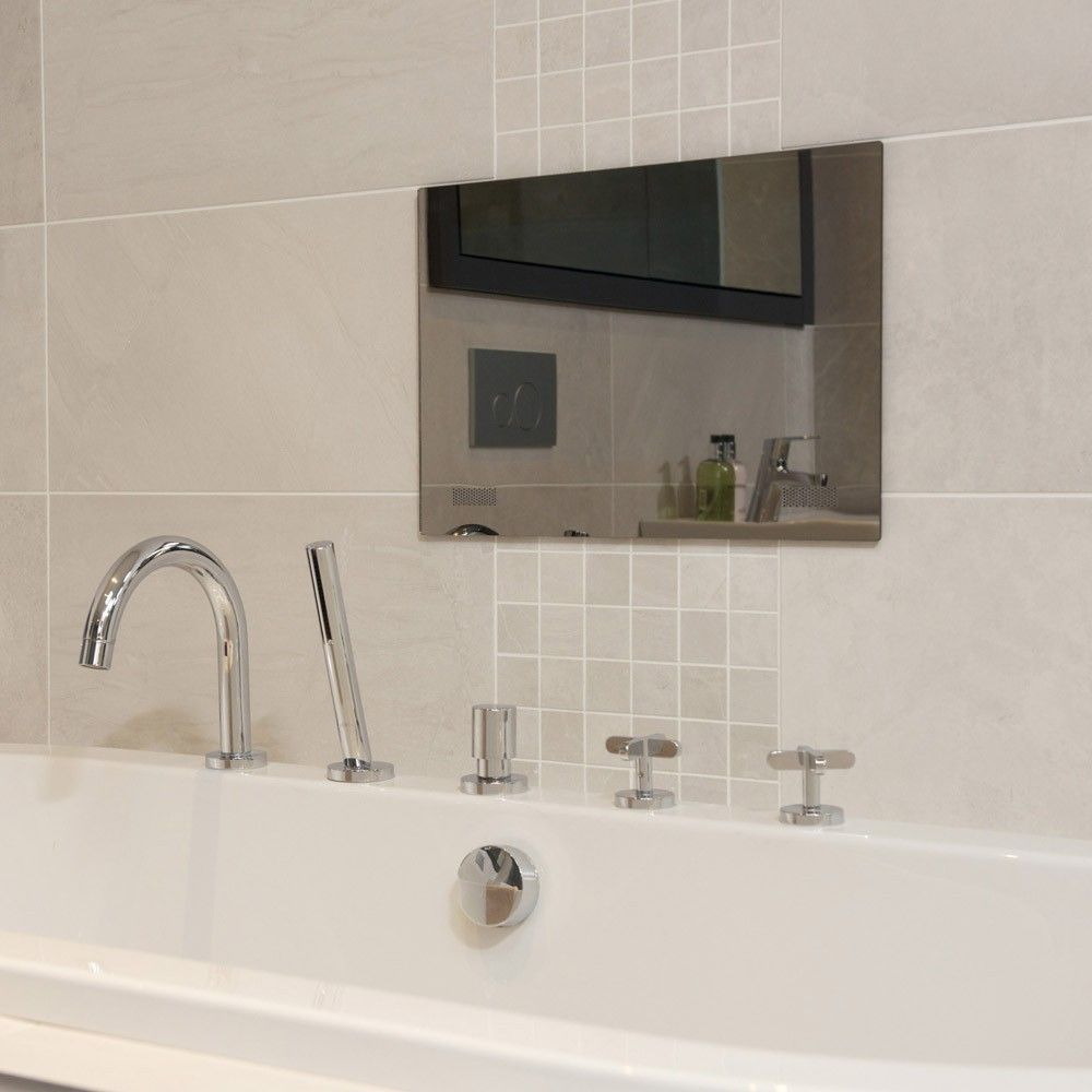 32 Waterproof Bathroom Mirror Tv Mirror Tv Tv In Bathroom Bathroom Mirror