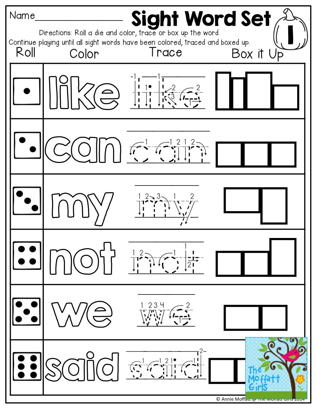 October NO PREP Math and Literacy (Kindergarten