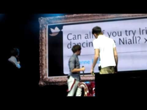 One Direction - Irish Dancing/Dance-Off (HD) Molson Amphitheatre