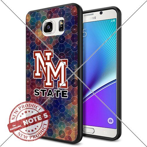 NEW New Mexico State Aggies Logo NCAA #1370 Samsung Note5 Black Case Smartphone Case Cover Collector TPU Rubber original by WADE CASE [Circle] WADE CASE http://www.amazon.com/dp/B017KVM0JU/ref=cm_sw_r_pi_dp_ZPEzwb1G1R0XY