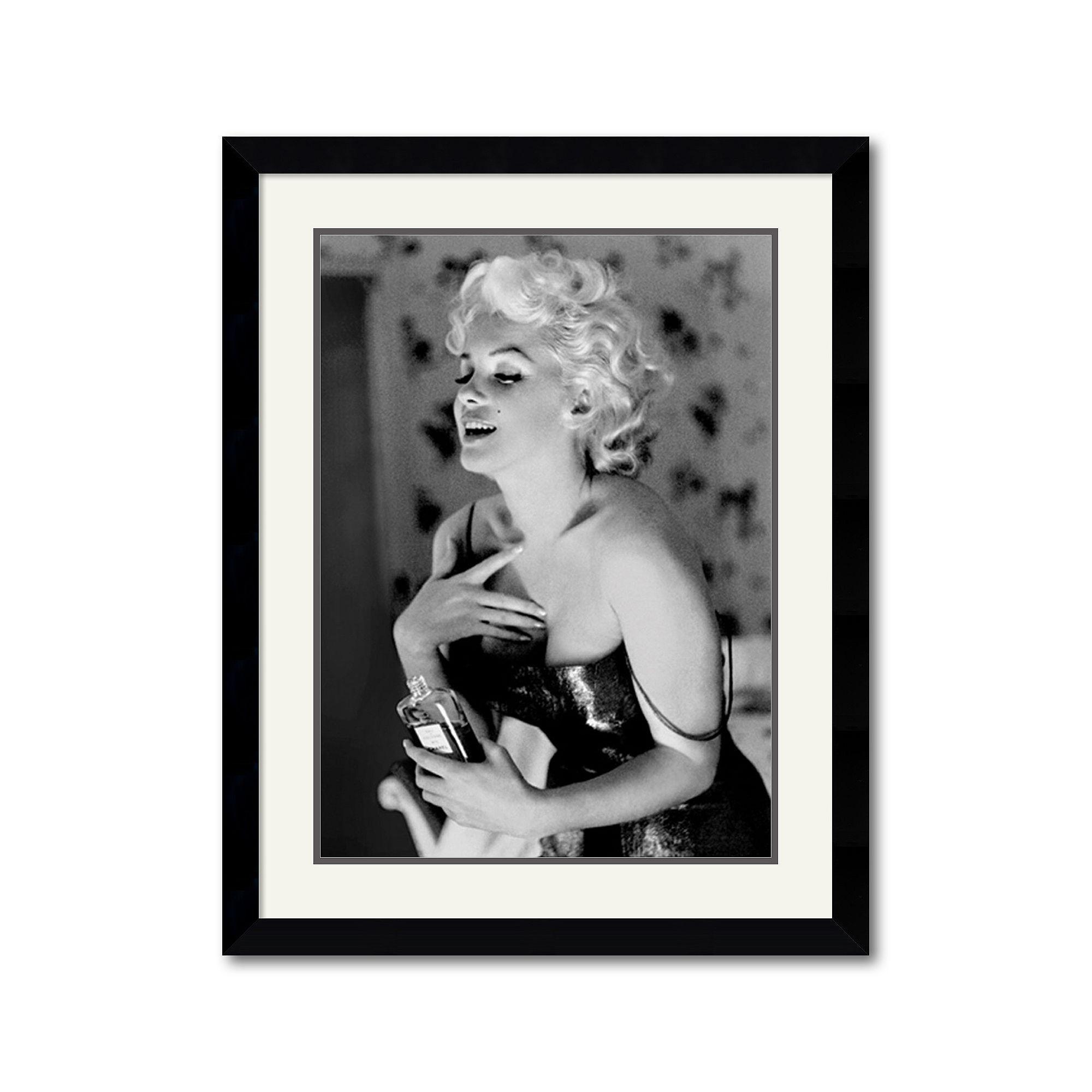 Perfecto Marilyn Monroe Arte Enmarcado Bosquejo - Ideas ...