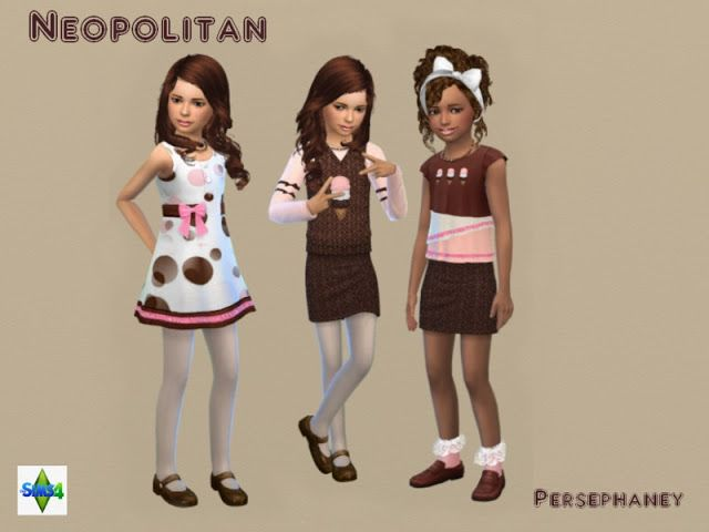 Sims 4 CC's - The Best: Clothing by Persephaney