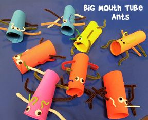 Big Mouth Tubo Ant Artesanato de www.daniellesplace.com